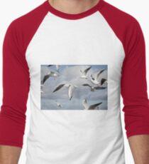 Flying Seagulls Men's Baseball ¾ T-Shirt