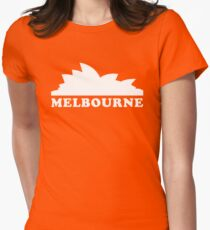MELBOURNE Womens Fitted T-Shirt