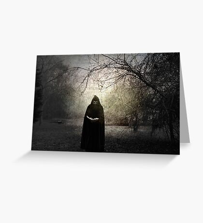 Darkness Greeting Card