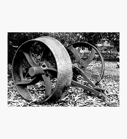 Old Wheels Photographic Print