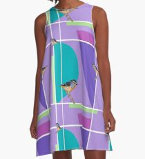 Spotted Pardalote  A-Line Dress