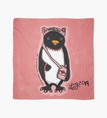 Pink Kitty Penguin Scarf