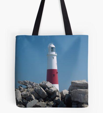 Portland Bill Lighthouse Tote Bag