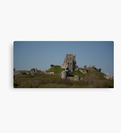 Corfe Castle, Dorset Canvas Print