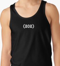 Area Code 202 (for womens t-shirts) Tank Top