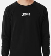 Area Code 202 (for womens t-shirts) Lightweight Sweatshirt