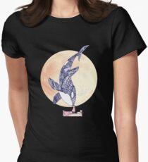 Kiss Good Night - Orca II Women's Fitted T-Shirt