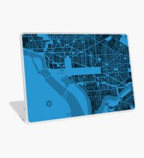 Map of Washington, DC Laptop Skin