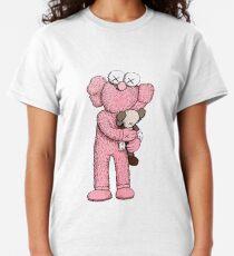 Pink Kaws Original Classic T-Shirt