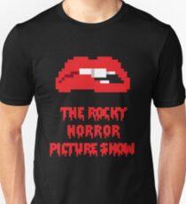 8-Bit Rocky Horror Lips T-Shirt