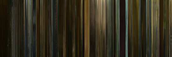 Moviebarcode: The Social Network (2010) by moviebarcode