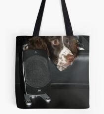 Chilling to Tunes Tote Bag