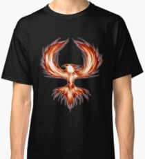 The Mythical Phoenix (flame) Classic T-Shirt