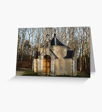Church or Crypt?, Montresor, Loire Valley, France 2012 Greeting Card