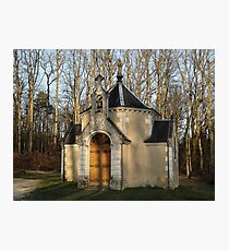 Church or Crypt?, Montresor, Loire Valley, France 2012 Photographic Print