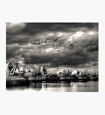 Thames Barrier - Greenwich Photographic Print