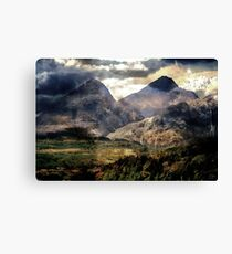 The Contrast That Light Completes. Canvas Print