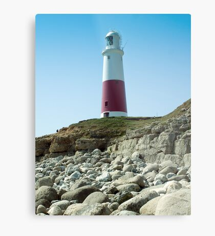 Portland Lighthouse, Dorset Metal Print