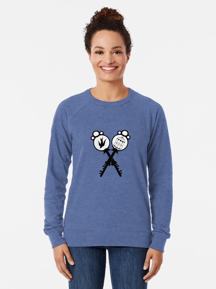 Alternate view of The Bird or the Cage? Lightweight Sweatshirt