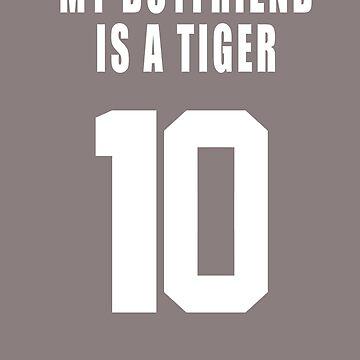 MY BOYFRIEND IS A  TIGER by DrJCabbage