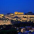 The Sacred Rock of Acropolis by Hercules Milas