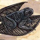 Tree Frog by Lynnette Shelley