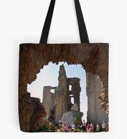 Corfe Castle Arch Tote Bag