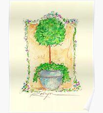 Fleurs Pour Jeanne Poster