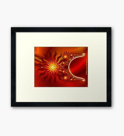 The Return of the Sun Framed Print