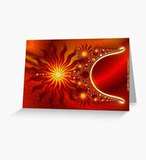 The Return of the Sun Greeting Card