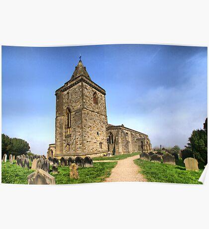 St Oswald's Church, Lythe Poster