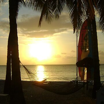 Jamaican Sunset, Negril by Mowny