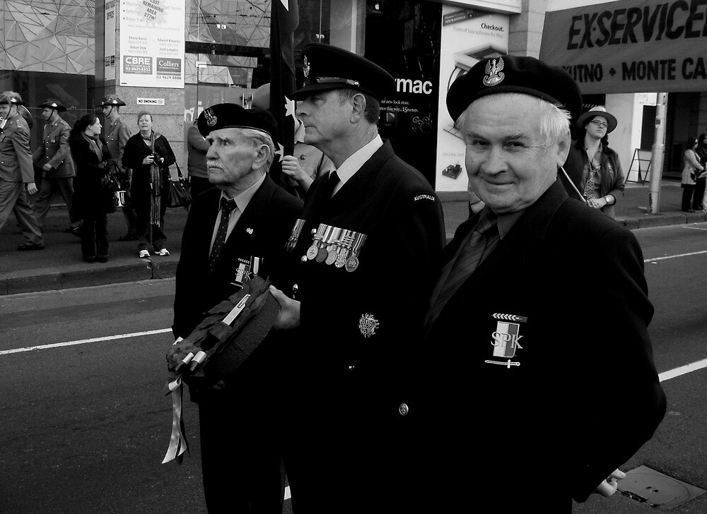 Polish Veterans by Andrew  Makowiecki
