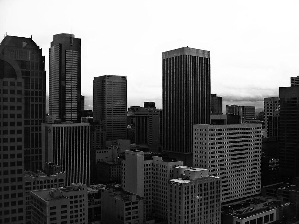 Downtown Seattle by slomo