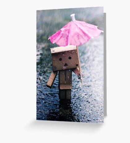 A Rainy Danbo Greeting Card