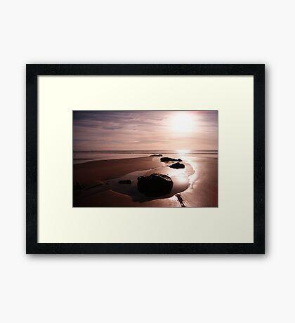 Sunrise over Stanley Framed Print