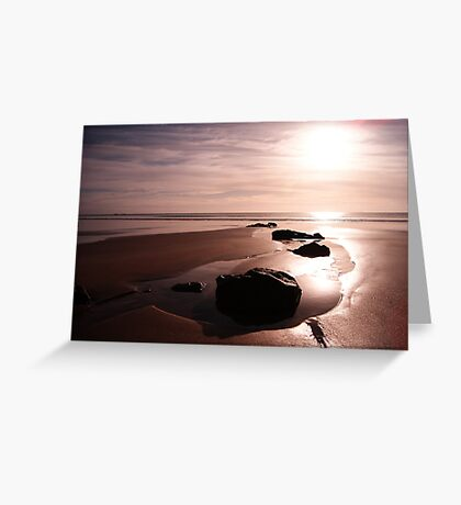 Sunrise over Stanley Greeting Card