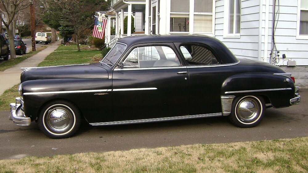 1949 dodge coronet club coupe by harlan mayor redbubble. Black Bedroom Furniture Sets. Home Design Ideas
