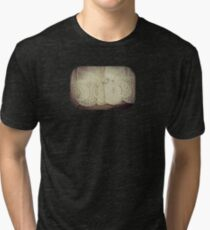 Lace - Embroidery - JUSTART © Tri-blend T-Shirt