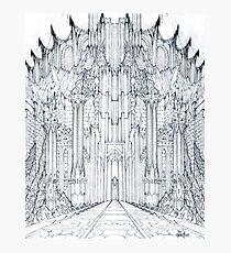 Barad-Dur Gate Study Photographic Print