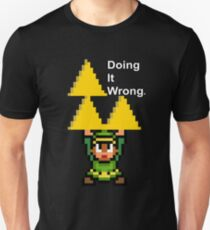 The Triforce - Doing It Wrong Unisex T-Shirt