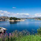 See Spjodevatnet in Norwegen von SaNe-Stuecke