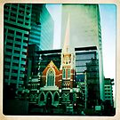The Church and the City by minikin
