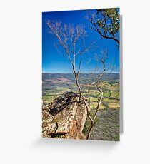 Autumn Afternoon at Cathedral Ranges Greeting Card