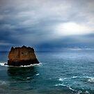 Eagal Rock Aireys Inlet by Tamara Dandy