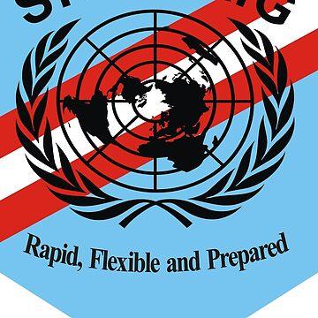 Standby High-Readiness Brigade (SHIRBRIG) by wordwidesymbols