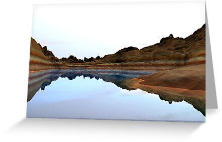 Reflections At Midday by Hugh Fathers
