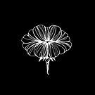« Illustration bisous fleur graphique » par silowane