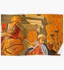 Venetian mosaic Poster