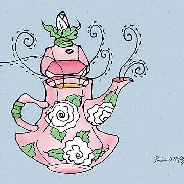 Carnation Tea by DeepRedTiger